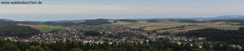 Blick von Burg Scharzfels