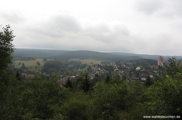 Blick von der Köte Brockenblick auf Altenau